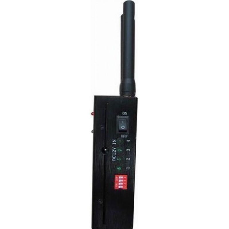 65,95 € Envoi gratuit | Bloqueurs de Téléphones Mobiles Bloqueur de signal portable haute puissance GPS GSM Portable