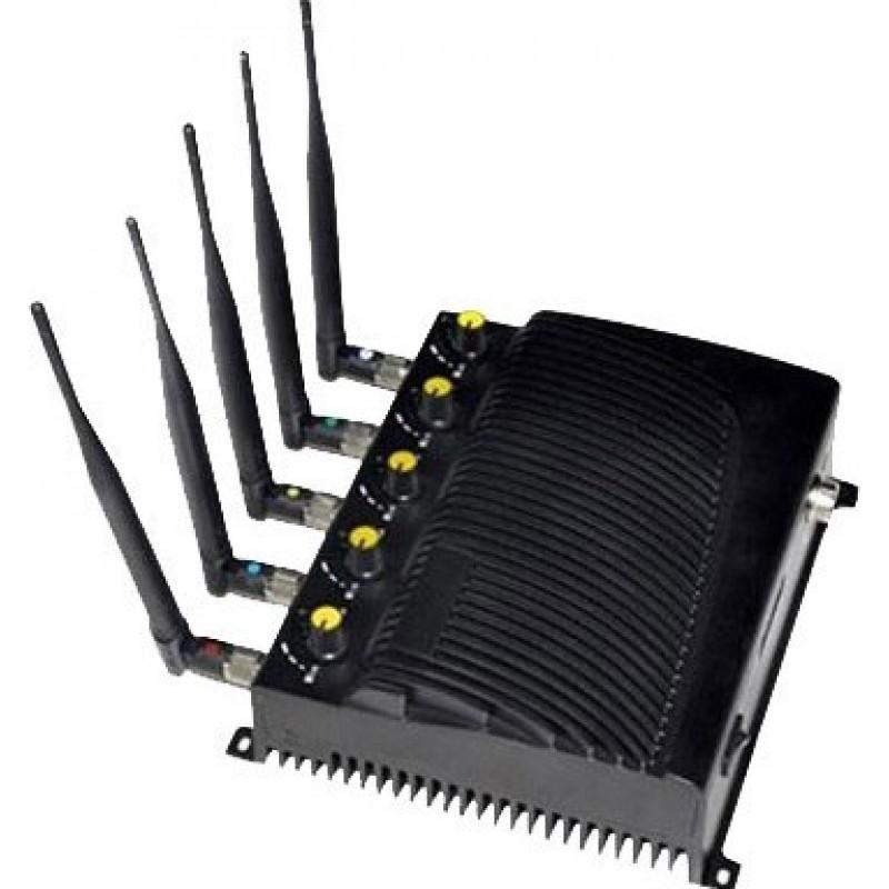 95,95 € 免费送货   手机干扰器 可调节信号阻断器 GPS