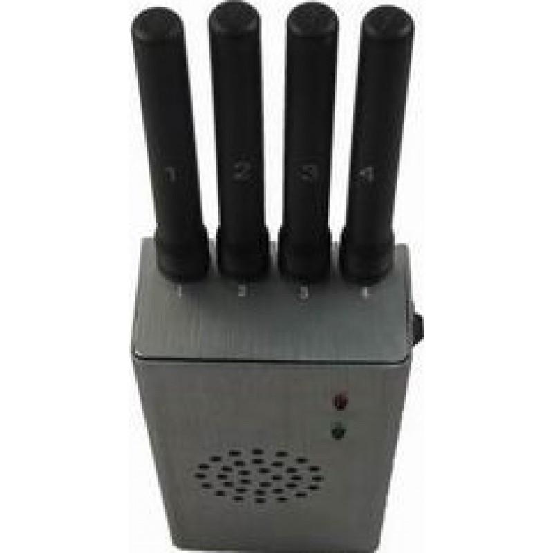 65,95 € Envoi gratuit | Bloqueurs de Téléphones Mobiles Bloqueur de signal portable haute puissance. Couleur grise Cell phone 4G Portable