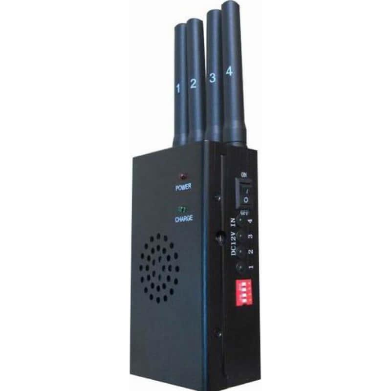 65,95 € Kostenloser Versand | Handy-Störsender Mobiler Hochleistungs-Signalblocker. Schwarze Farbe Cell phone 3G Portable