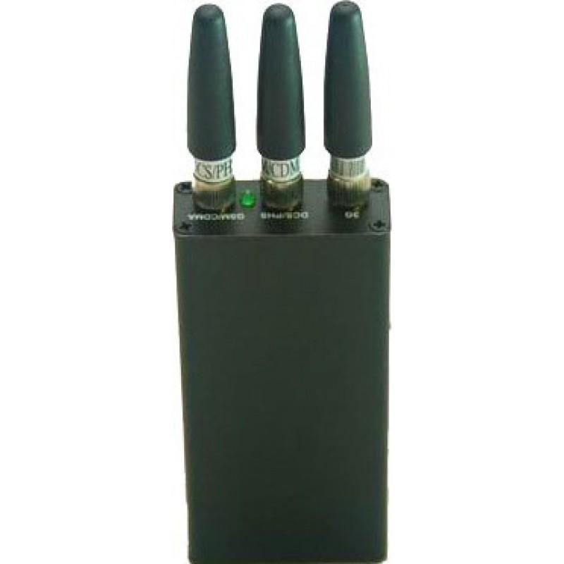 23,95 € Envío gratis | Bloqueadores de Teléfono Móvil Mini bloqueador de señal portátil Cell phone Portable