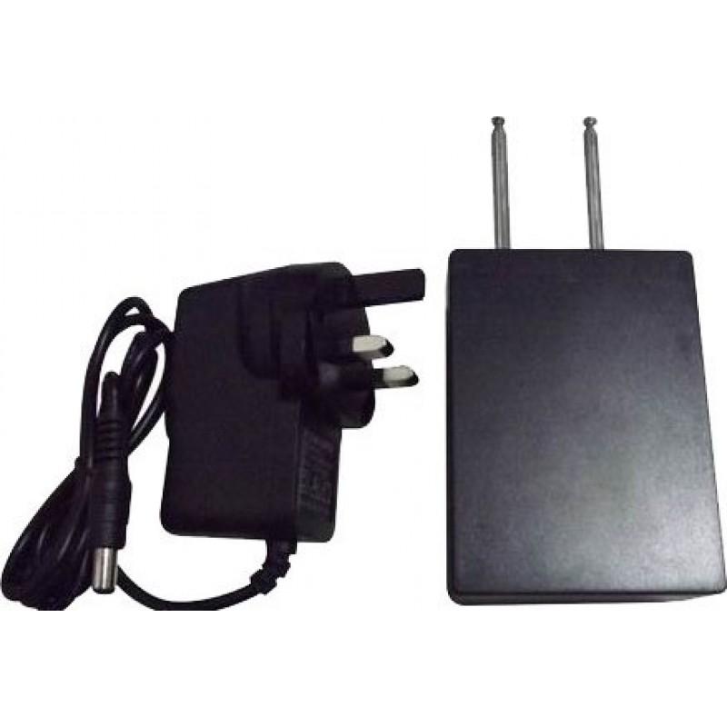 37,95 € Envio grátis | Bloqueadores de Controle Remoto Bloqueador de sinal de controle remoto de carro de banda dupla Radio Frequency 270MHz 50m