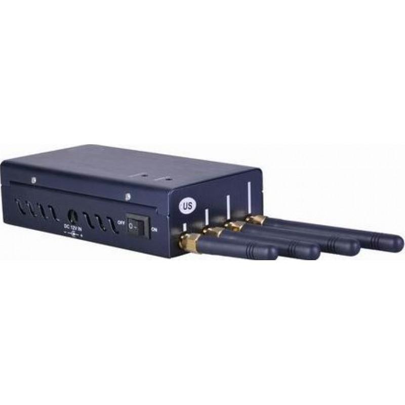 62,95 € Kostenloser Versand | Audio-Voice-Störsender Tragbarer drahtloser Video- und Audiosignalblocker Audio Portable