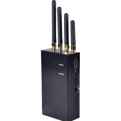 Bloqueador de sinal portátil com ventiladores Cell phone