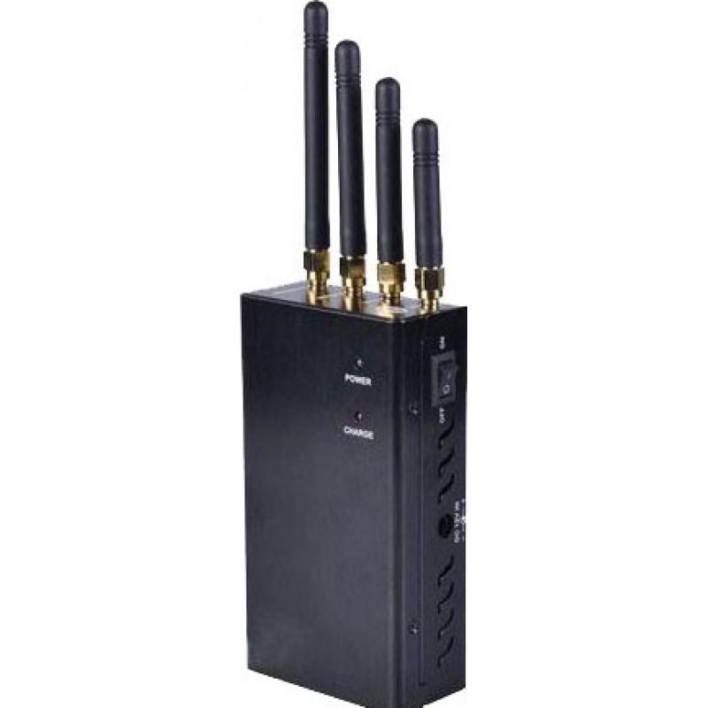 62,95 € Kostenloser Versand | Handy-Störsender Tragbarer Signalblocker mit Ventilatoren Cell phone Portable
