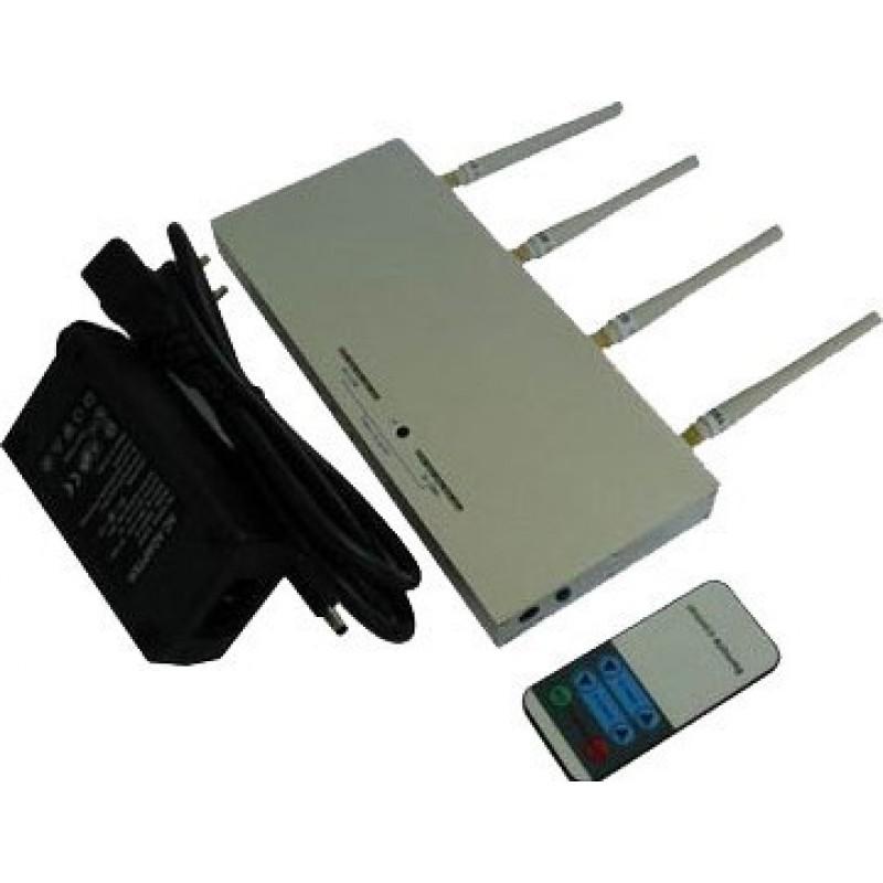 55,95 € 免费送货 | 手机干扰器 带遥控器的信号拦截器 Cell phone 30m