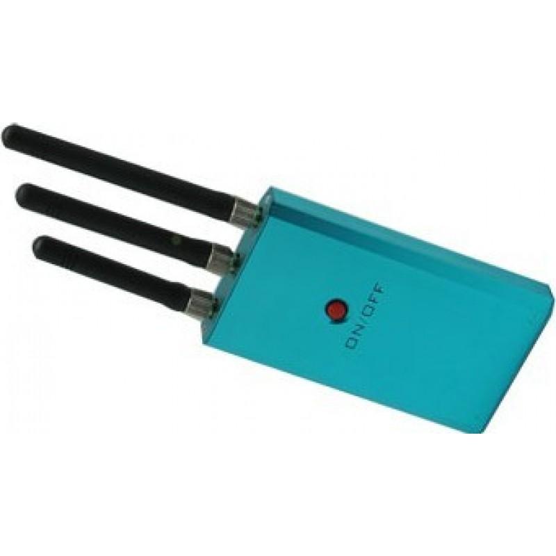 25,95 € Envoi gratuit | Bloqueurs de Téléphones Mobiles Mini bloqueur de signal. Bloqueur de signal de puissance moyenne Cell phone