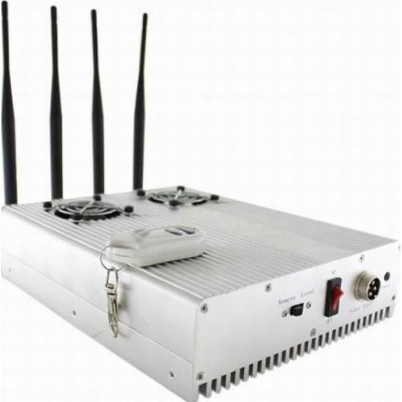 85,95 € Envoi gratuit | Bloqueurs de Téléphones Mobiles Bloqueur de signal de bureau haute puissance GPS Desktop