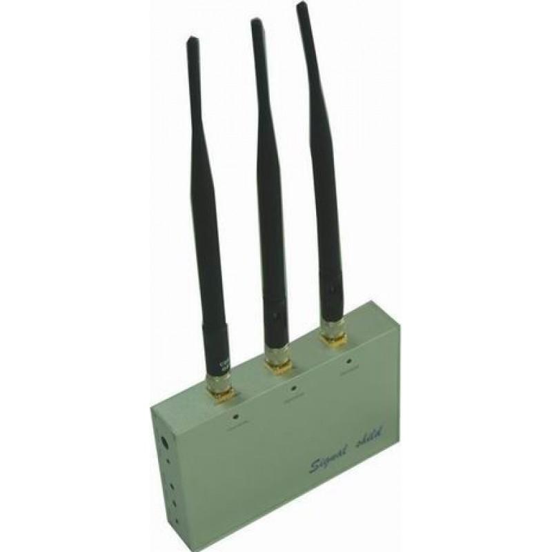 39,95 € Бесплатная доставка | Блокаторы мобильных телефонов Блокатор сигналов с дистанционным управлением Cell phone GSM