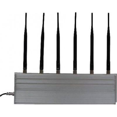 6 antennes. Bloqueur de signal haute puissance Cell phone