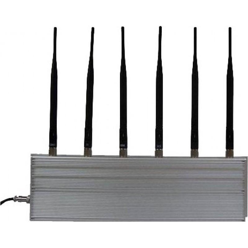 97,95 € Kostenloser Versand | Handy-Störsender 6 Antennen. Hochleistungs-Signalblocker Cell phone 3G