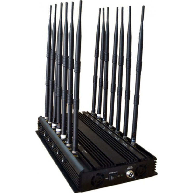 296,95 € Free Shipping   Cell Phone Jammers 14 Antennas. Adjustable powerful signal blocker. All phone bands signal blocker GPS GSM