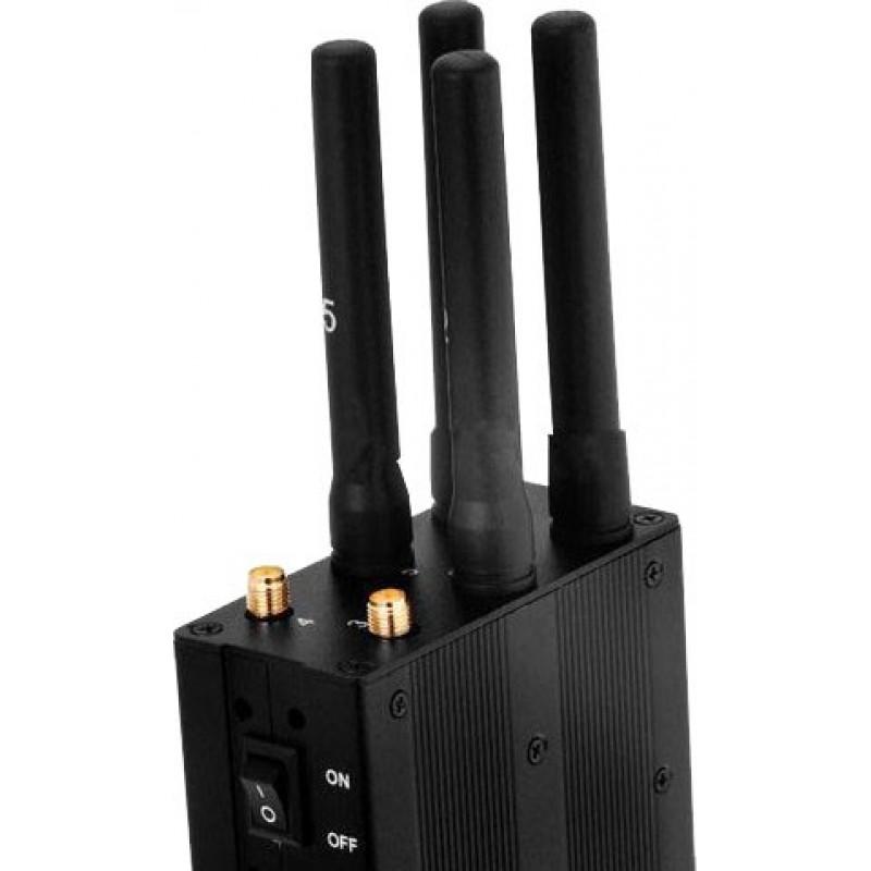 112,95 € Envoi gratuit | Bloqueurs de Téléphones Mobiles Bloqueur de signal sélectionnable et portable GPS GPS L1 Portable