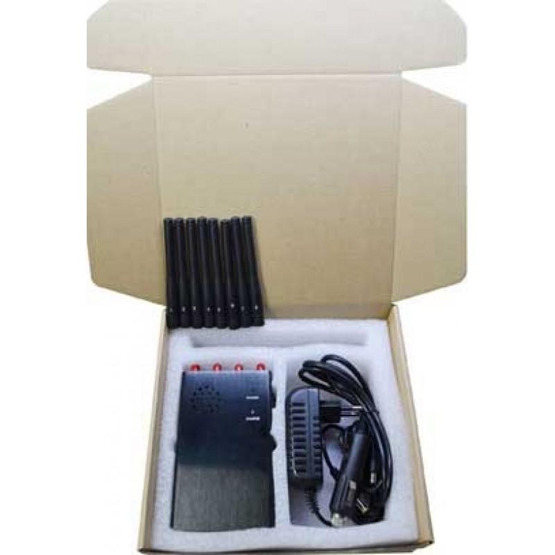 147,95 € Envoi gratuit   Bloqueurs de Téléphones Mobiles 8 antennes. Bloqueur de signal portable GPS GSM Handheld