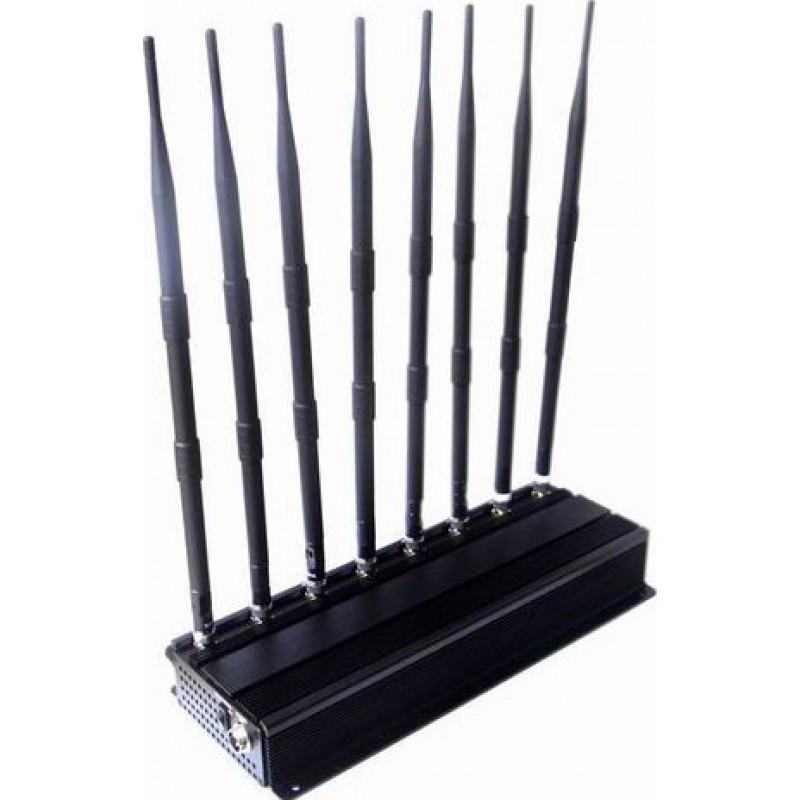 186,95 € Бесплатная доставка   Блокаторы мобильных телефонов 8 Bandss Регулируемый мощный блокатор сигналов GPS GPS L1
