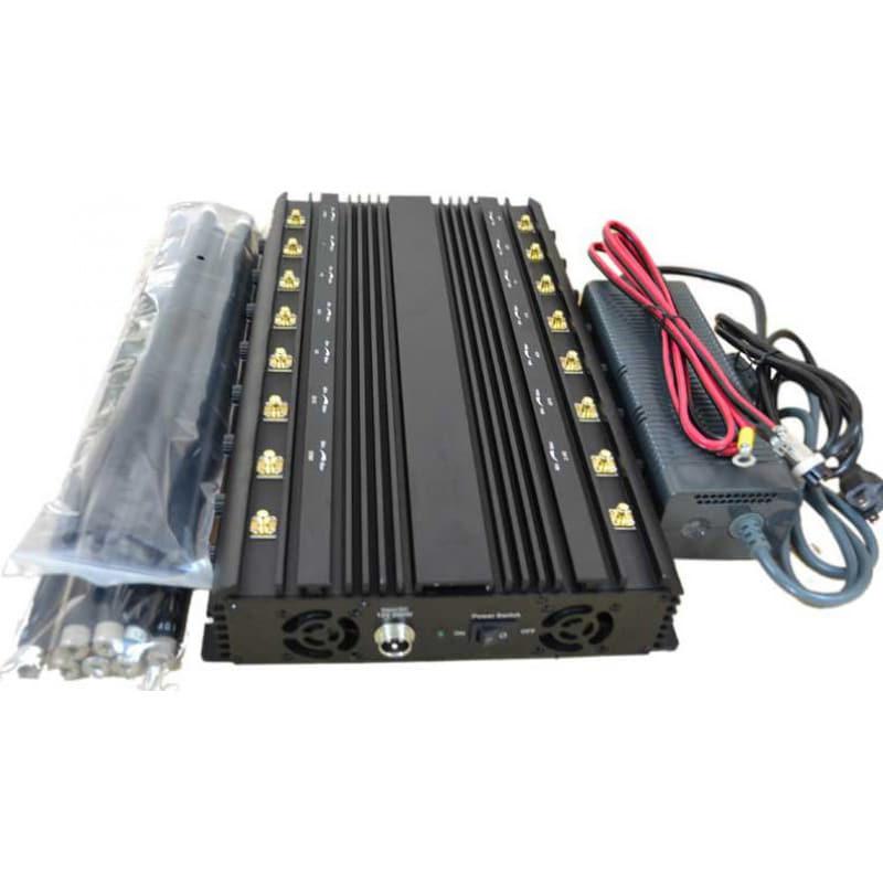 346,95 € Kostenloser Versand   Handy-Störsender Volle Bänder. Einstellbarer leistungsfähiger Signalblocker. 16 Antennen GPS GPS L1