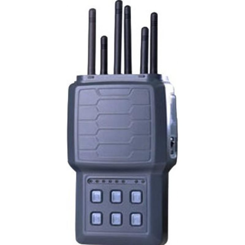 268,95 € Envoi gratuit | Bloqueurs de Téléphones Mobiles 6 bandes. Tous les téléphones portables bloquent le signal Cell phone Handheld