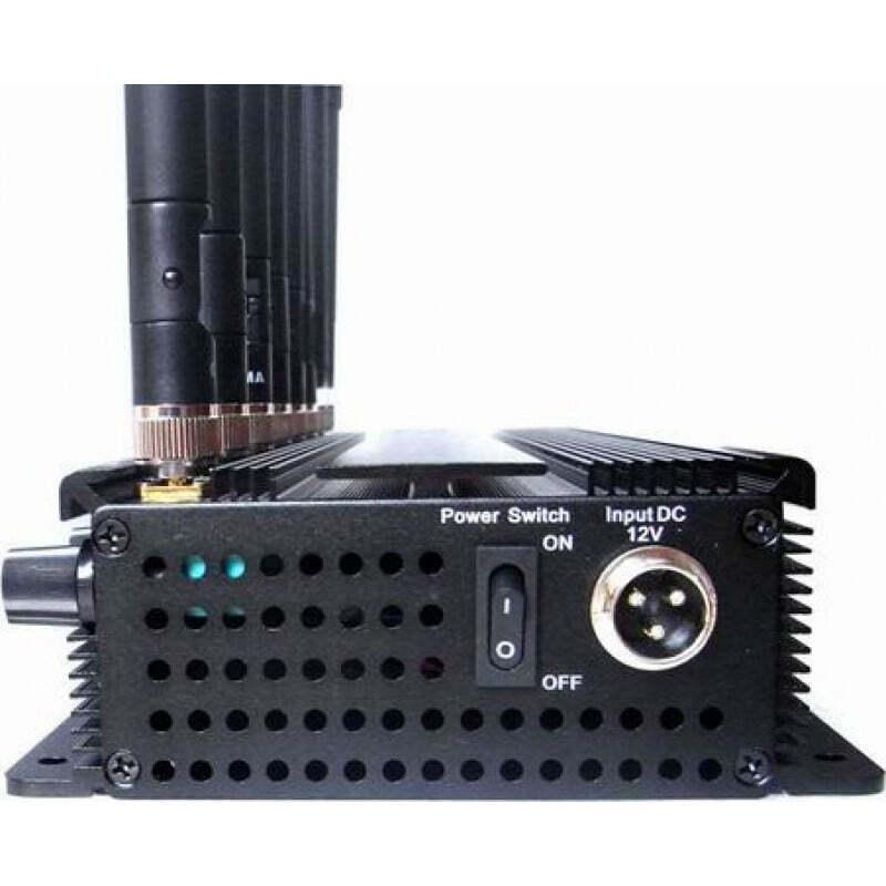 186,95 € Kostenloser Versand | Handy-Störsender 8 Bänder. Einstellbarer leistungsfähiger Signalblocker GPS 3G