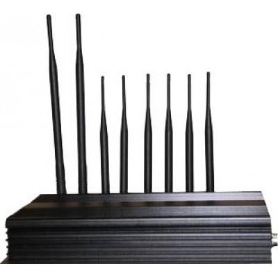 PC Controlled signal blocker. 8 Antennas Cell phone