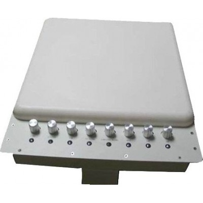 Adjustable signal blocker with Bulit-in directional antenna Cell phone