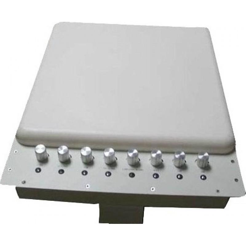 169,95 € Kostenloser Versand | Handy-Störsender Einstellbarer Signalblocker mit eingebauter Richtantenne Cell phone VHF