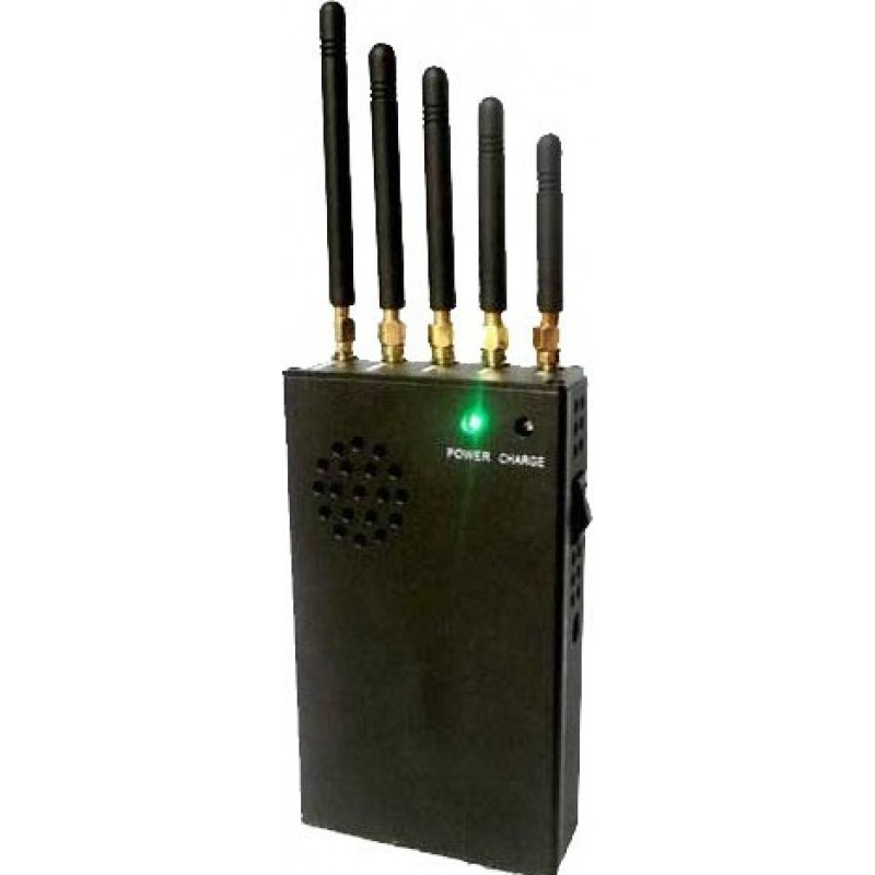 82,95 € Kostenloser Versand | Handy-Störsender 3W tragbarer Signalblocker Cell phone 3G Portable