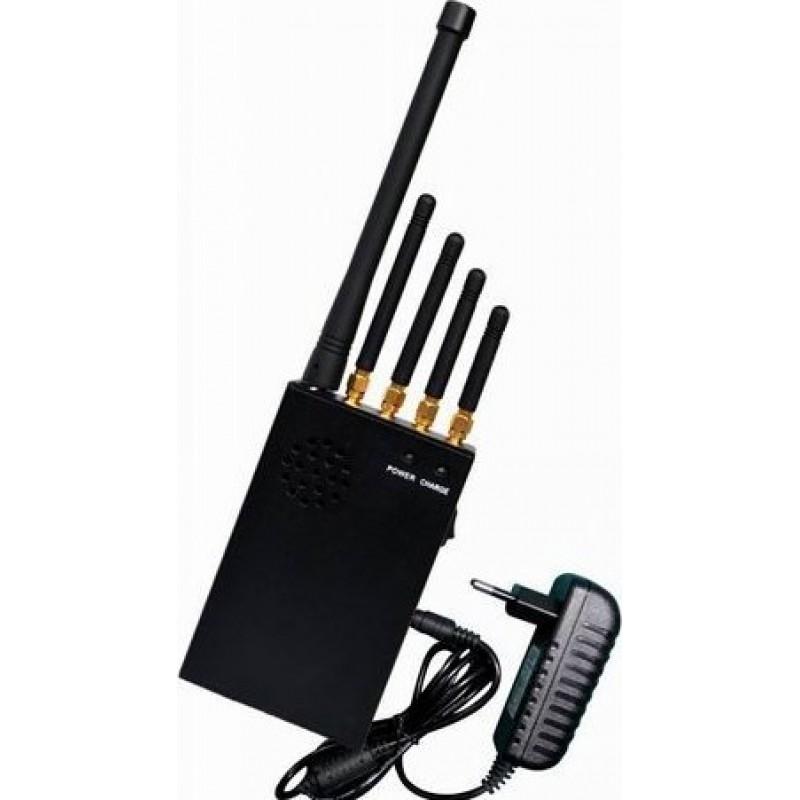 82,95 € Бесплатная доставка | Блокаторы мобильных телефонов 3W Портативный блокатор сигналов GPS Portable