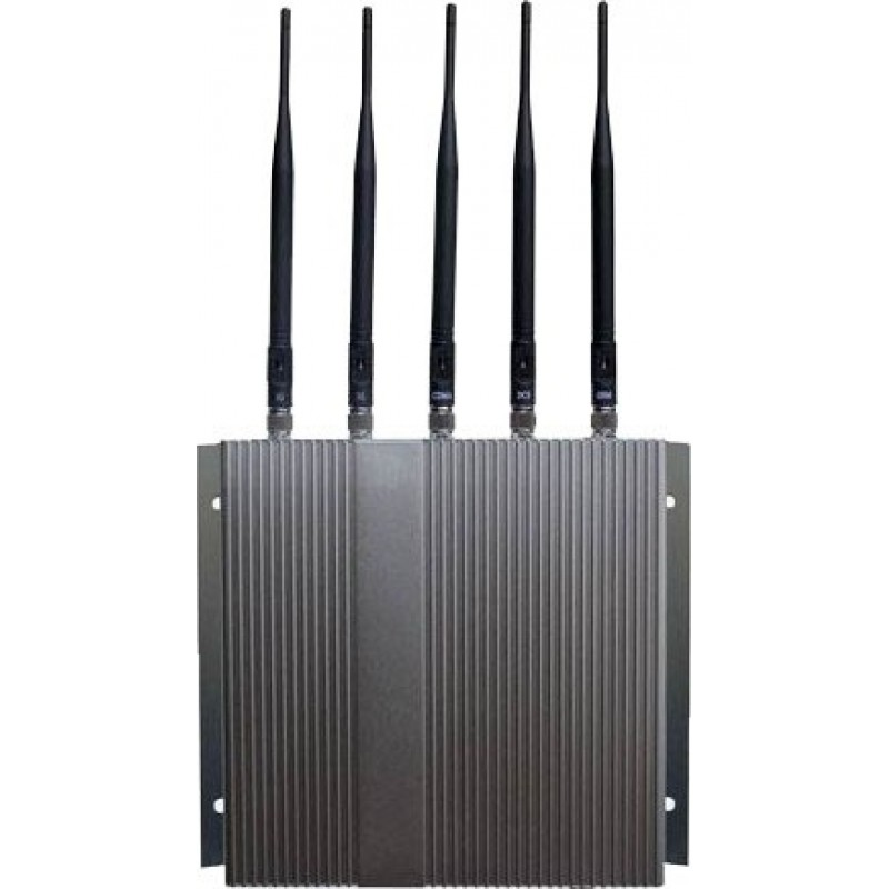 87,95 € Kostenloser Versand | Handy-Störsender 5 Bänder. Hochleistungssignalblocker mit Fernbedienung Cell phone 3G