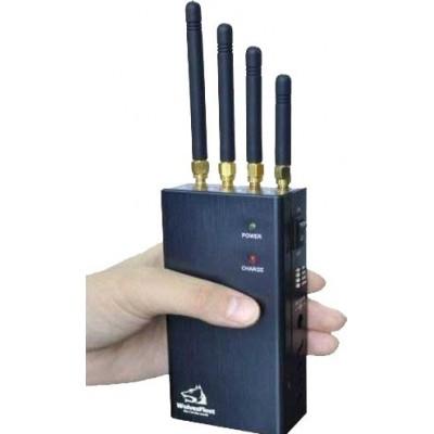 Портативный мощный блокировщик беспроводного сигнала. Выбираемая кнопка WiFi