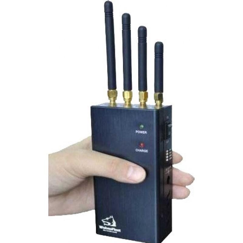 62,95 € Бесплатная доставка | Блокировщики WiFi Портативный мощный блокировщик беспроводного сигнала. Выбираемая кнопка WiFi Portable