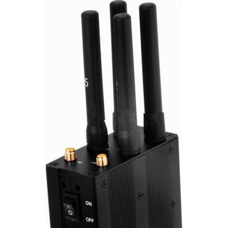 107,95 € Kostenloser Versand | Handy-Störsender Auswählbarer und tragbarer Signalblocker GPS 3G Portable