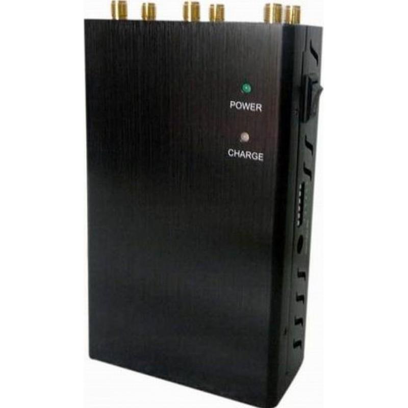 97,95 € Kostenloser Versand | Handy-Störsender 6 Antennen. Auswählbarer Handheld-Signalblocker GPS Handheld