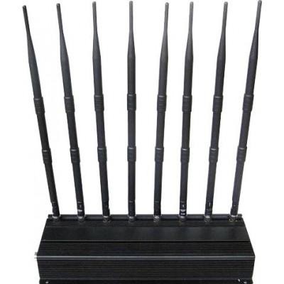 174,95 € Envío gratis | Bloqueadores de Teléfono Móvil Bloqueador de señal de alta potencia GPS VHF