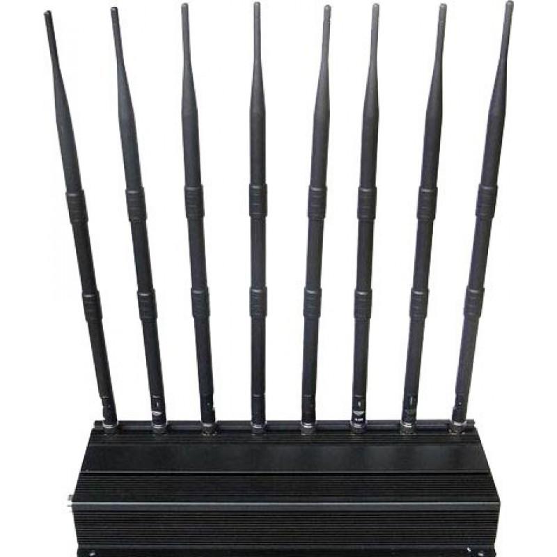 174,95 € Бесплатная доставка   Блокаторы мобильных телефонов Блокатор сигналов высокой мощности GPS VHF