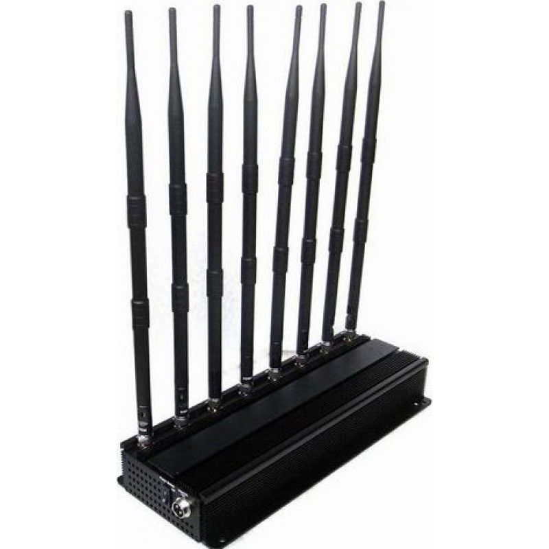 174,95 € Free Shipping | Cell Phone Jammers High power signal blocker GPS VHF