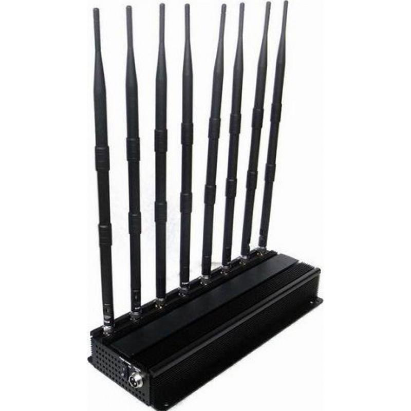 174,95 € 免费送货   手机干扰器 高功率信号阻断器 GPS VHF