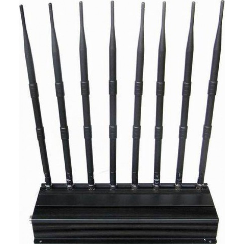 174,95 € Free Shipping | Cell Phone Jammers Multi-functional signal blocker GPS 3G