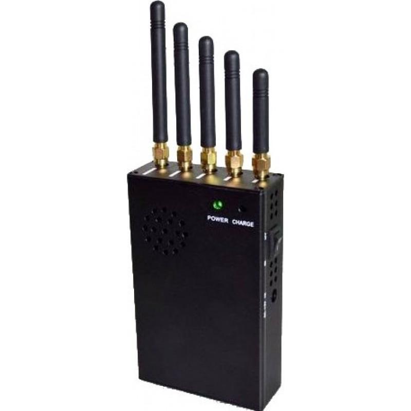 82,95 € Kostenloser Versand   Handy-Störsender 3W Handheld-Signalblocker mit Lüfter GPS Handheld