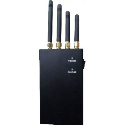 4 bandes. 2W Bloqueur de signal portable Cell phone