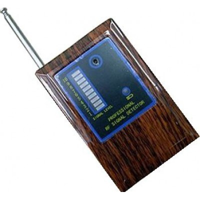 Portable radio frequency signal detector. Wireless camera scanner