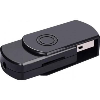 33,95 € Envio grátis | Outras Câmeras Espiã Mini gravador de voz USB. Dispositivo de gravação de som. Redução de ruído. Gravação em HD