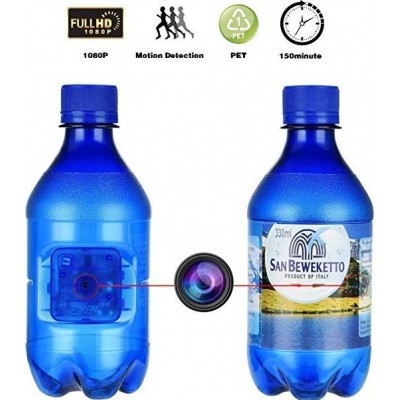 49,95 € Free Shipping | Other Hidden Cameras Spy portable Camera. Blue Bottle. Motion Detection. 1080P HD