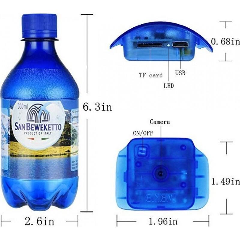 49,95 € Kostenloser Versand   Andere versteckte Kameras Spy tragbare Kamera. Blaue Flasche. Bewegungserkennung. 1080P HD