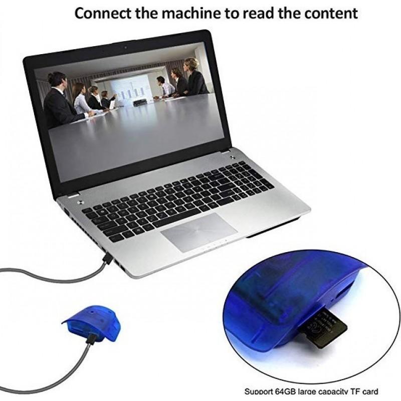 49,95 € Envoi gratuit | Autres Caméras Espion Caméra portable espion. Bouteille bleue. Détection de mouvement. 1080p HD