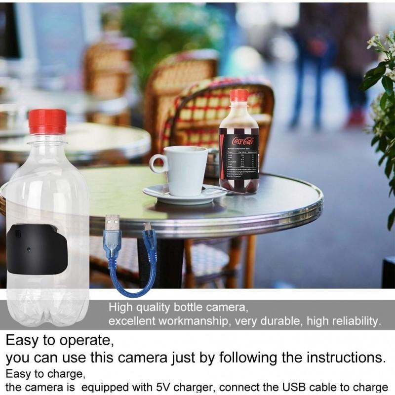 19,95 € Envoi gratuit   Autres Caméras Espion Bouteille d'eau. Caméra espion. Détection de mouvement. 1080P. Ultra-petit. Système de sécurité domestique