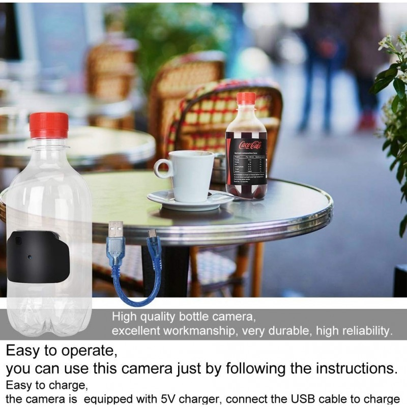 19,95 € Free Shipping   Other Hidden Cameras Water Bottle. Spy Camera. Motion Detection. 1080P. Ultra-Small. Home Security System