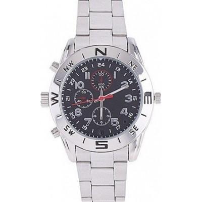 48,95 € Бесплатная доставка | Шпионские наручные часы Шпионская камера HD шпионские часы. 1280x960. 4 ГБ DVR камера