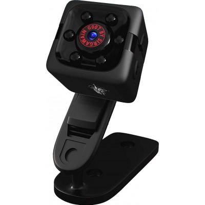 41,95 € Envío gratis | Otras Cámaras Ocultas Mini cámara espía. 1080P. Cámara HD portátil oculta. Vision nocturna. Detección de movimiento. Niñera cam