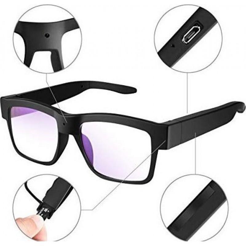 22,95 € 免费送货 | 眼镜隐藏的相机 与间谍相机的眼镜。 1080P高清。视频眼镜。 32GB存储卡。穿戴式相机