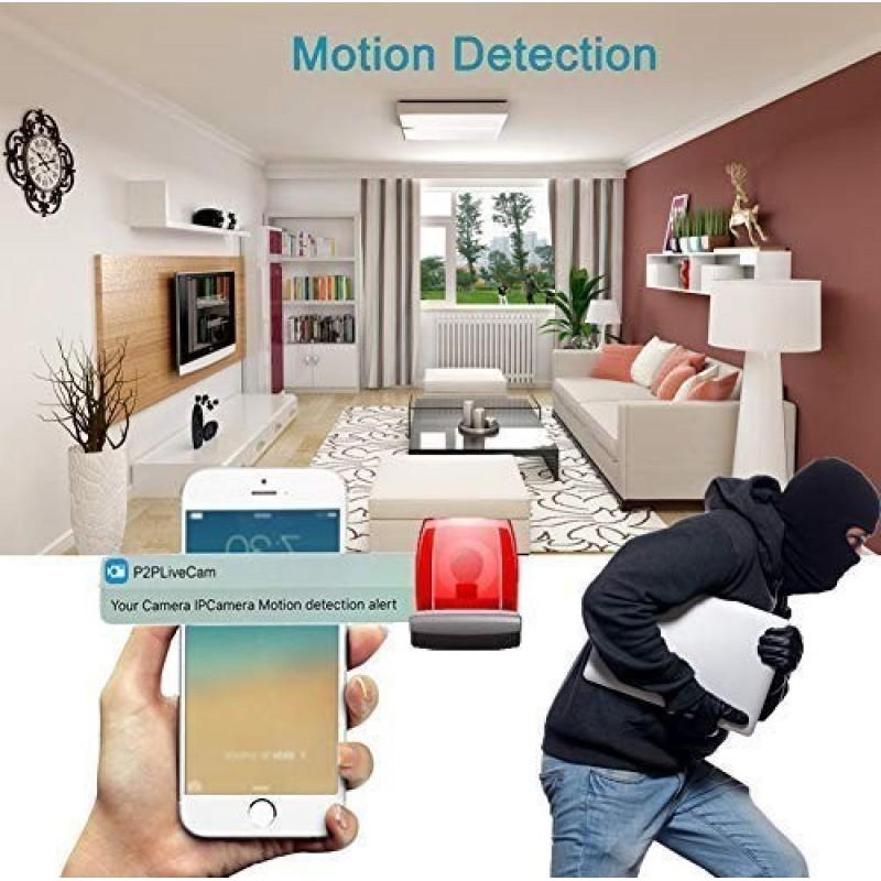 57,95 € Free Shipping | Clock Hidden Cameras Hidden Spy Camera Clock. HD 1080P. WiFi. Alarm Clock. Night Vision. Motion Detection. Loop Recording